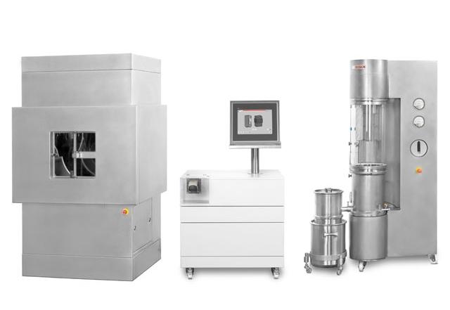 Wirbelschicht – Laboranlage