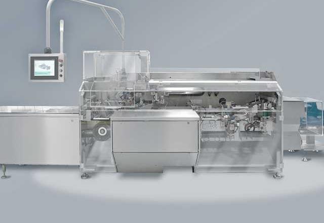 Kartoniermaschine Pharma CUK von Bosch