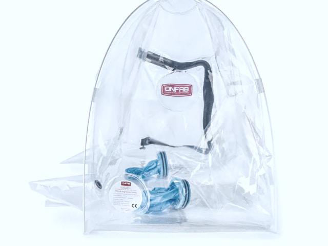 Pop-up Glove Bag Isolator von Onfab -1